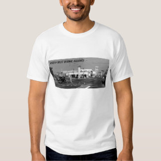 corner of valencia and misison 1944, north west... t shirt