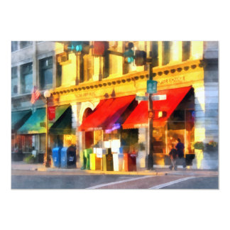 Corner or Center and Merchant Rutland VT Card