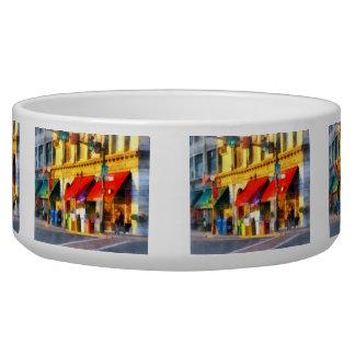 Corner or Center and Merchant Rutland VT Dog Bowls