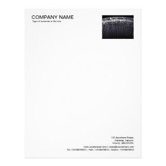 Corner Photo - Typewriter Letterhead