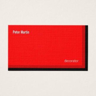 Corner Reds Card
