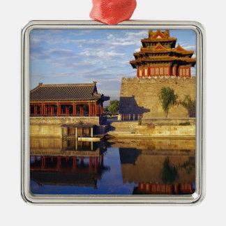 Corner Tower of Forbidden City, Beijing, china Ornaments