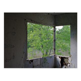 Corner Window Postcard