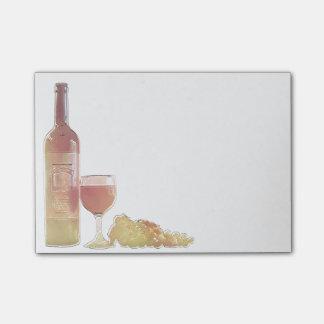 Corner Wine Pastel Post-it® Notes