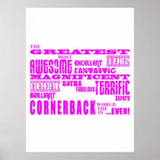 Cornerback de los chicas: Cornerback más grande Impresiones