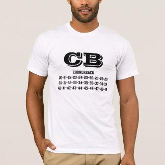Cornerback jersey numbers Tee-shirt T-Shirt