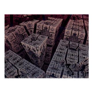 Cornered 3D Fractal Postcard