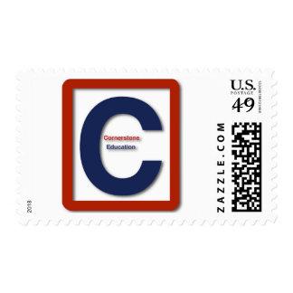 Cornerstone Education 1st Class Stamp