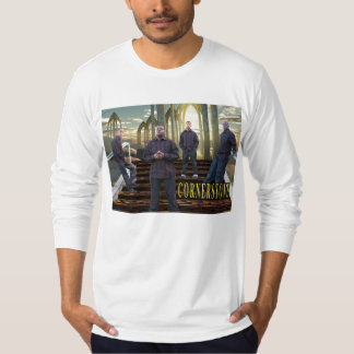 Cornerstone of Gospel House Men's Fitted L/S T-Shirt