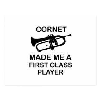 CORNET Design Postcard