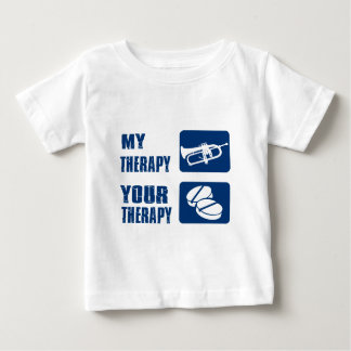 cornet is my therapy baby T-Shirt
