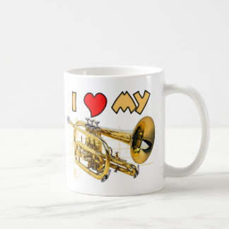 Cornet Love Coffee Mugs
