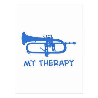 Cornet my therapy designs postcard
