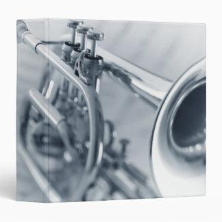 Cornet on Music Sheets 3 Ring Binder