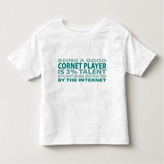 Cornet Player 3% Talent T-shirt