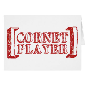 Cornet Player Card