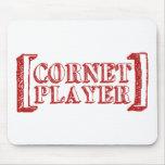 Cornet Player Mouse Pad