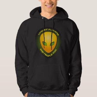 Cornet Players Are People Too Hooded Sweatshirt
