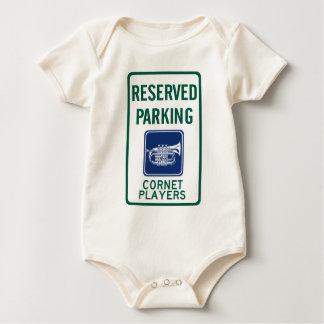 Cornet Players Parking Baby Bodysuit