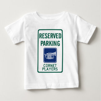 Cornet Players Parking Baby T-Shirt