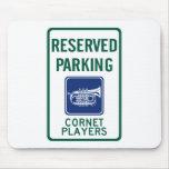 Cornet Players Parking Mouse Pads