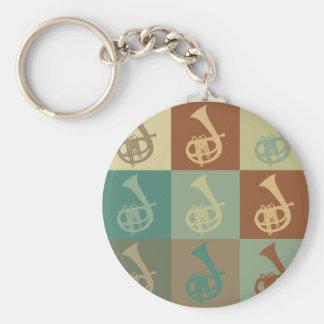 Cornet Pop Art Keychain