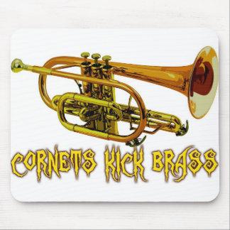 Cornets Kick Brass Mouse Pad