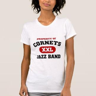 Cornets XXL Jazz band Tees