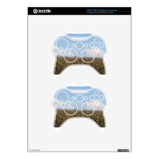 Cornfield and swallows xbox 360 controller skin