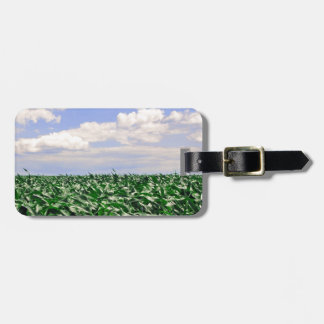 """Cornfield Blowing in the Wind"" collection Luggage Tag"