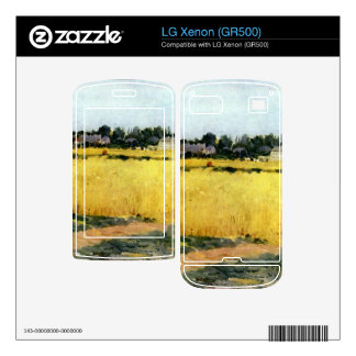 Cornfield by Berthe Morisot Decals For LG Xenon