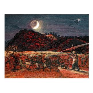 Cornfield by Moonlight, 1830 Postcard