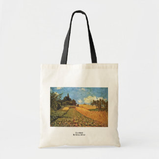 Cornfield By Sisley Alfred Canvas Bag