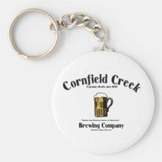 Cornfield Creek Brewing Co. Legendary Since 1659! Keychain