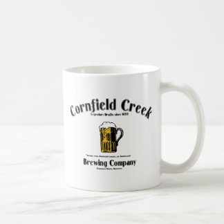 Cornfield Creek Brewing Co. Legendary Since 1659! Classic White Coffee Mug