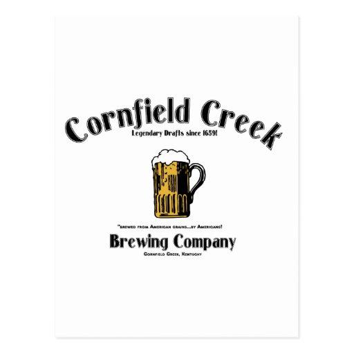 Cornfield Creek Brewing Co. Legendary Since 1659! Postcards