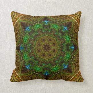 Cornfield Dome Mandala Pillow