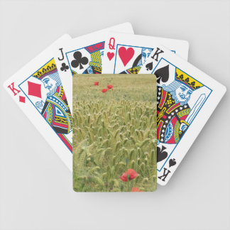Cornfield Bicycle Playing Cards