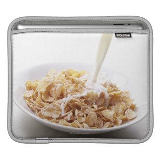 Cornflakes and milk iPad sleeves