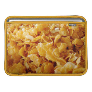 Cornflakes on MacBook Air 11ins sleeve