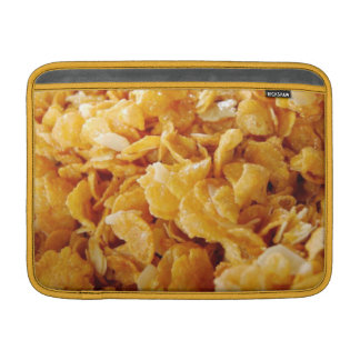 Cornflakes on MacBook Air sleeve