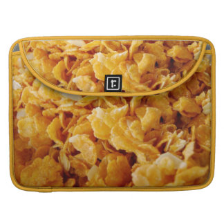 Cornflakes on MacBook Pro sleeve