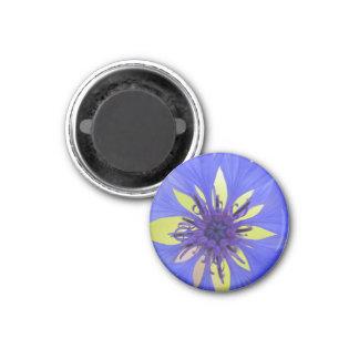 cornflower 1 inch round magnet