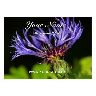 Cornflower 2 large business card