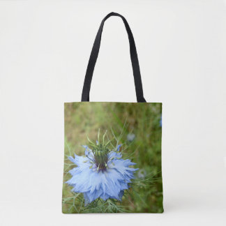 Cornflower All Over Print Tote Bag