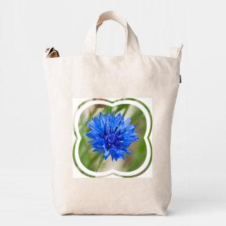 Cornflower azul bolsa de lona duck