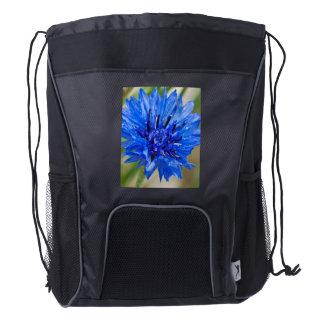 Cornflower azul mochila de cordón