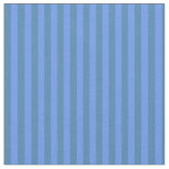 [ Thumbnail: Cornflower Blue and Blue Colored Lines Fabric ]