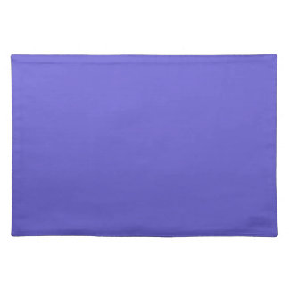 Cornflower Blue Background on a Placemat
