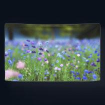 Cornflower Blue Banner